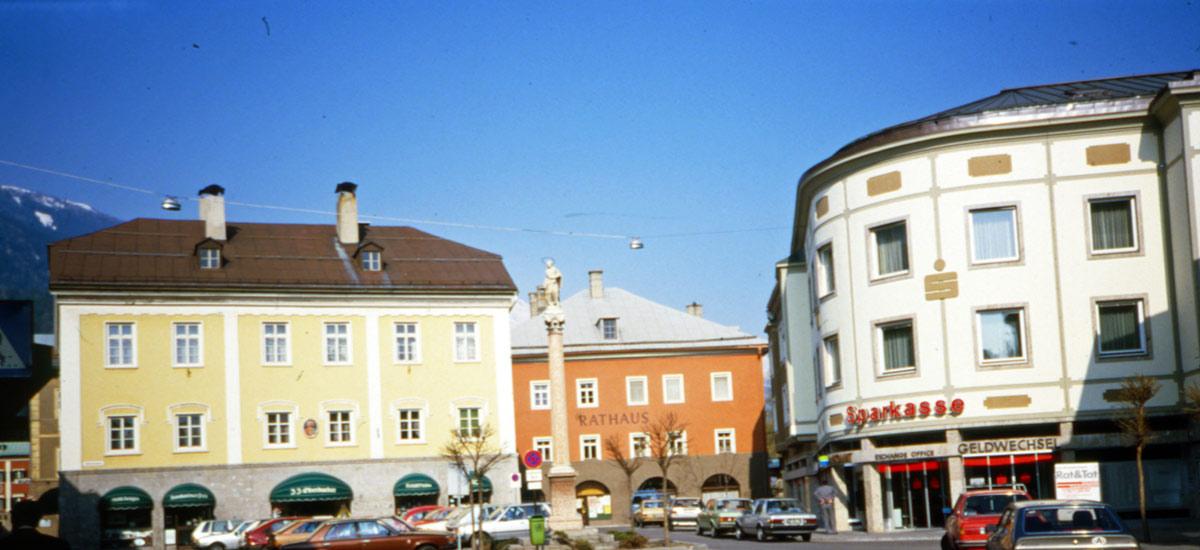 Immagine storica Piazza San Giovanni (Johannesplatz) a Lienz