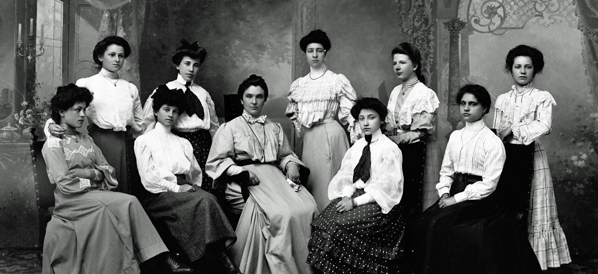 Immagine storica Foto di gruppo Fotostudio Waldmüller Bolz